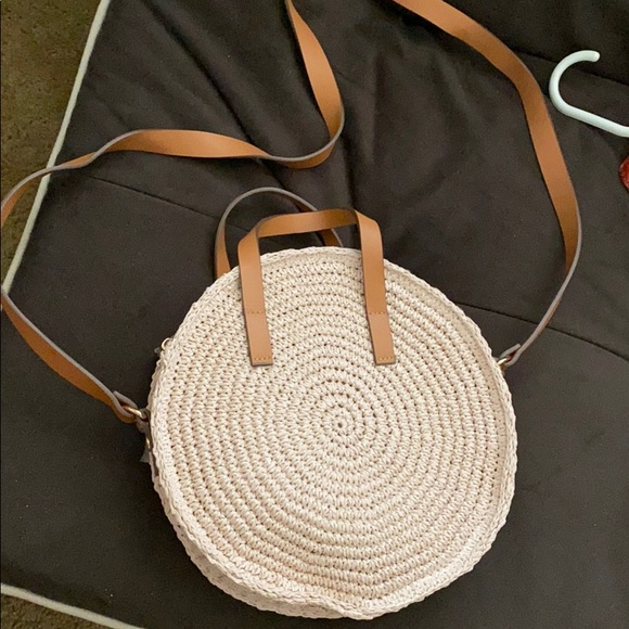 H&M Handbags - H&M Straw bag